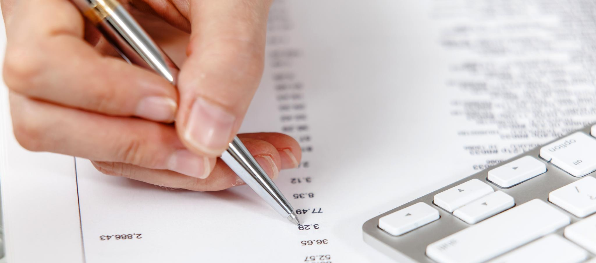 Are you checking your financial statements?