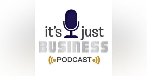 Its just business podcast logo